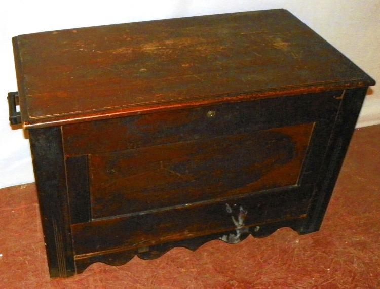 Pine Dowry Box