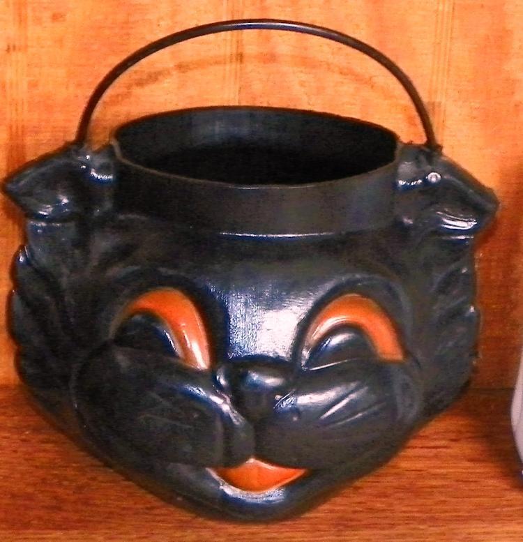 Trick or Treat Buckets-Cat