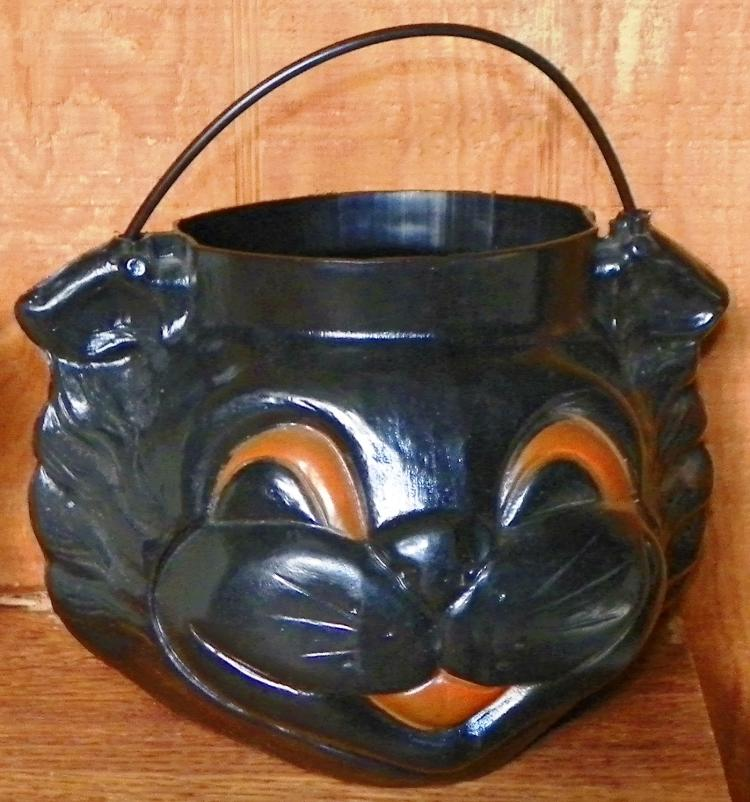 Trick or Treat Buckets-Cat