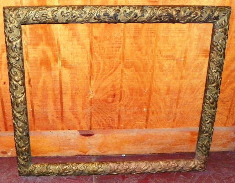 Antique Gesso Frame