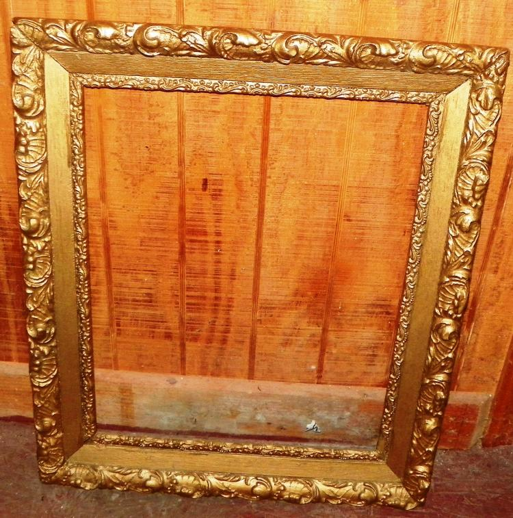 Antiques Gesso Frame