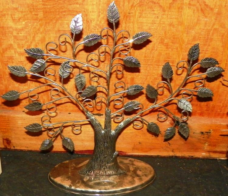 Silver Plated Tree of Life Card or Picture Holder