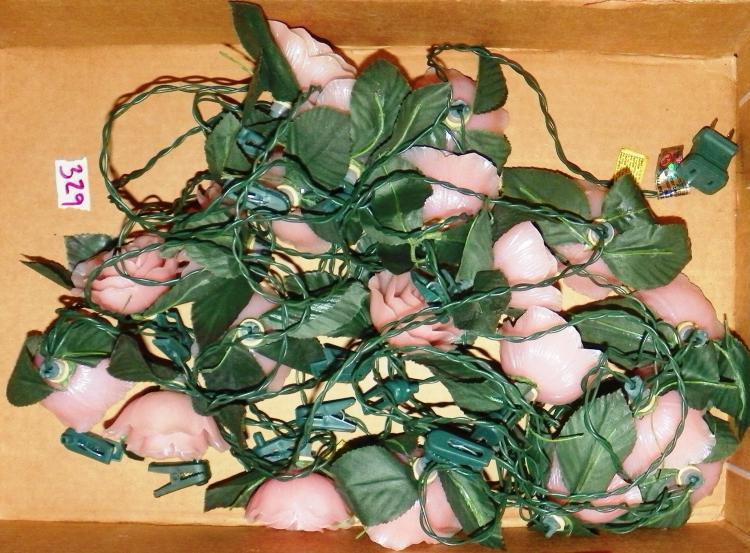 Box Lot  -Rose Christmas Lights