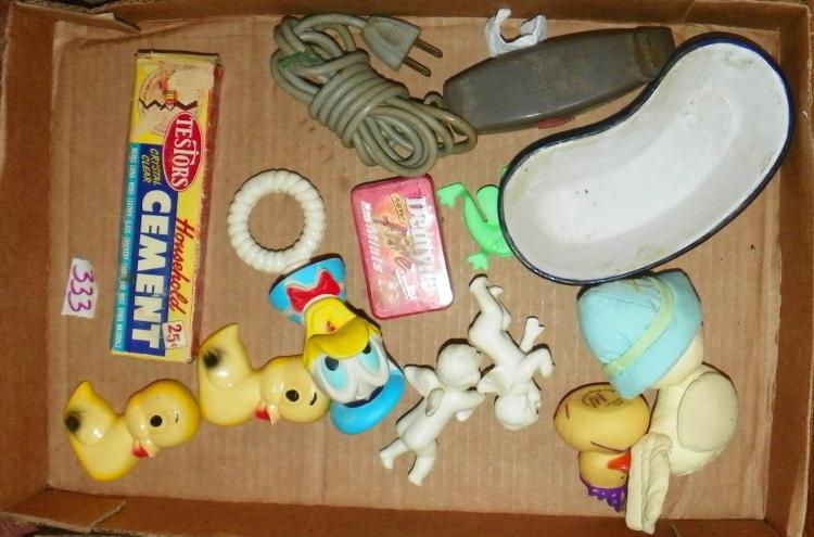 Box Lot - Baby Items and Collectibles