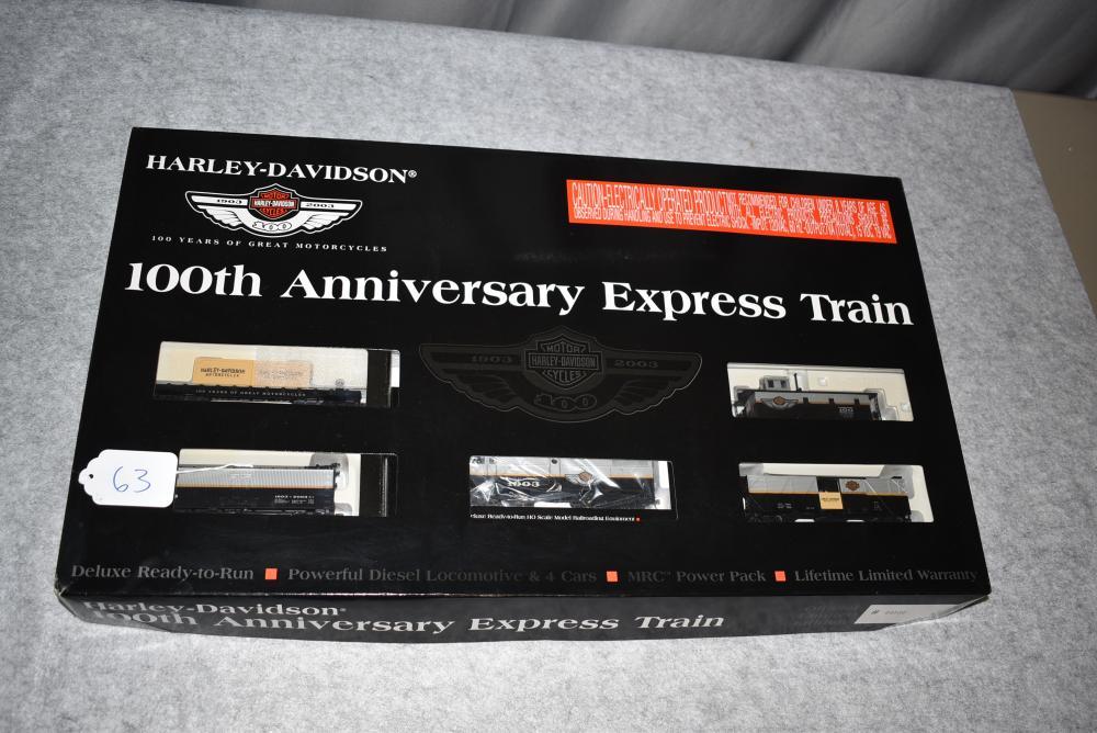 Harley-Davidson 100th Anniversary Express Train