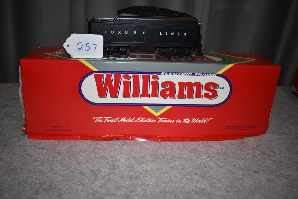 Williams #BRKTNDR-02 Berkshire Tenders w/Digital Whistle and Bell Luxury Lines w/box