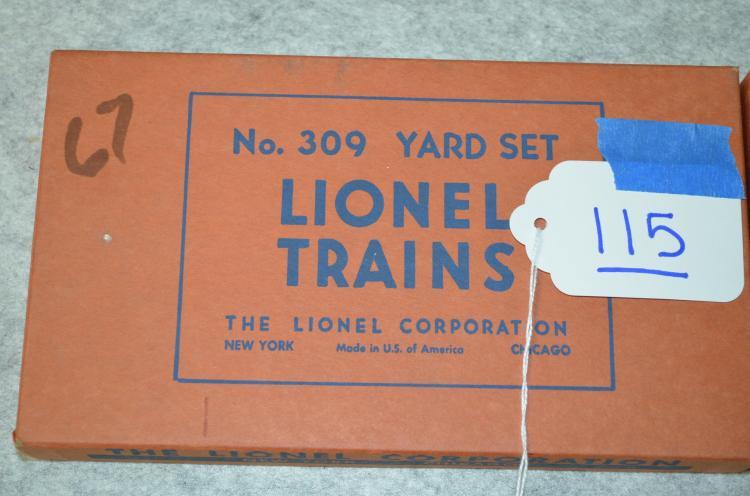 Lionel No 309 Yard Set In Original Box