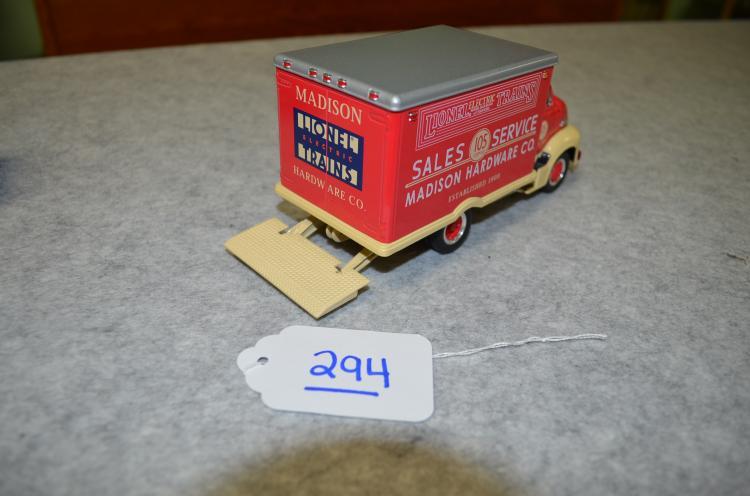 Lionelville Parcel Delivery Service Truck & Lionelville Sale