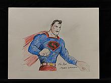 Superman Concept Art