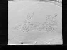 Speed Racer Pencil Drawings