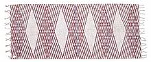 Peter Collingwood (1922 - 2008), hand-woven woollen rug or wall hanging, wi
