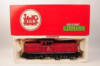 LGB 2051 S electronic diesel locomotive with