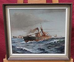 *Colin Verity (b. 1924), oil on canvas board in