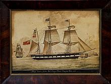 Nicholas Cammillieri (1762 - 1860), ink and waterc