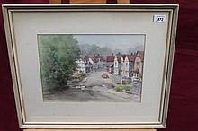 Watson Wood (1900 - 1985), watercolour - Water Spl