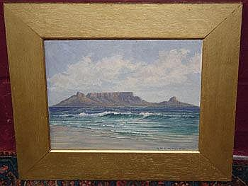 George Paul Canitz (1874 - 1959) oil on board in