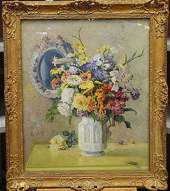 John Ernest Foster (1877 - circa 1965) oil on