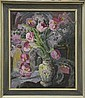 Lucy Harwood (1893 - 1972) oil on canvas in frame, Lucy Harwood, Click for value