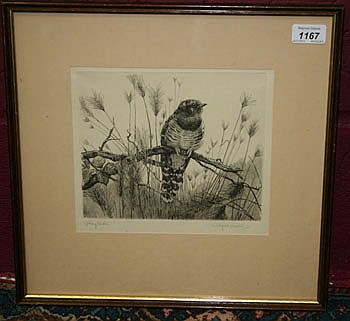 Winifred Austin (1876 - 1964) signed etching