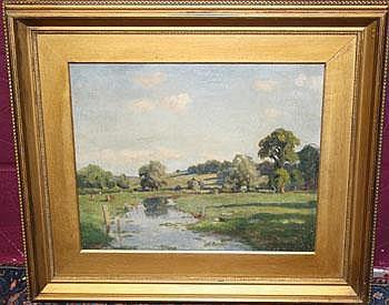 Arthur Henry Jenkins (1871-1940) oil on canvas