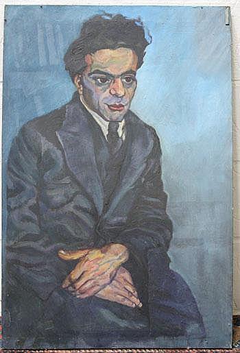 Clare Winsten (1894 - 1989) five oils on canvas -
