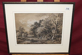 George James Rowe (1807 - 1883), black and white