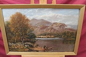 John Gunson Atkinson (act c.1849 - c.1880), oil on
