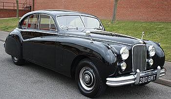 1954 Jaguar Mark VII saloon, Registration No 280