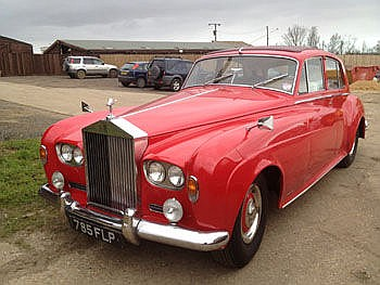 1963 Rolls-Royce Silver Cloud III saloon,