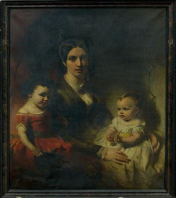 William Huggins (1820 - 1884), pair oils on canvas