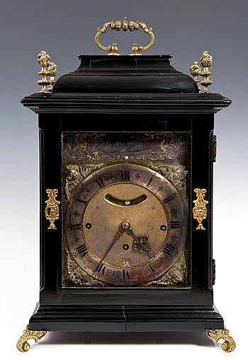 Early eighteenth century bracket clock with
