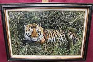 *Mark Whittaker (B 1964), acrylic on board in