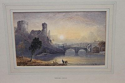 William Foster (1853 - 1899), pair watercolours -