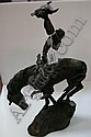 Buck McCain bronzed figure - Prayer to the Healing, Buck McCain, Click for value