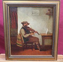 Charles Callcott (fl. 1873 - 1877), oil on canvas