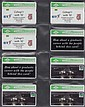 B.T. COMMEMORATIVE CARDS: BTC 61-110 (151)