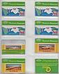 B.T. ADVERTISING CARDS: BTA 1-20 incl. BTA 7 10u