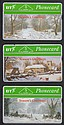 B.T.INTERNAL CARDS: BTI 11C-13C Christmas 91
