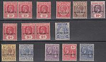 COLLECTIONS AND MIXED LOTS: British C/W George V