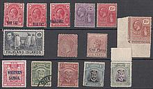 COLLECTIONS AND MIXED LOTS: Falklands 1938 2/6d