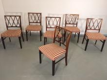 OLE WENCHER ROSEWOOD CHAIRS SET OF 6