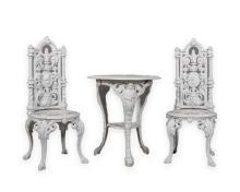 Three Piece Cast Iron Garden Set