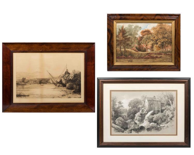 The Framed Pieces Artwork Hardin & Millspaugh