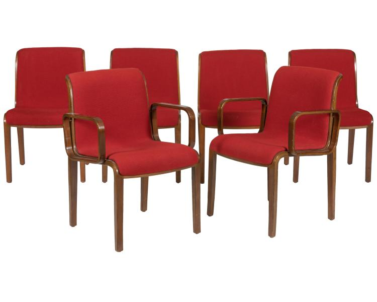Bill Stephens for Knoll Dining Chairs - Six
