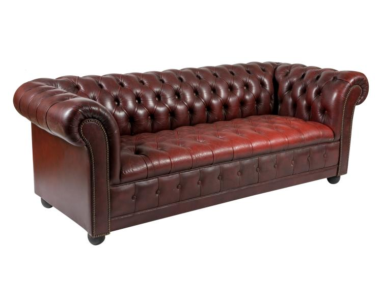 Chesterfield Leather Vintage Sofa