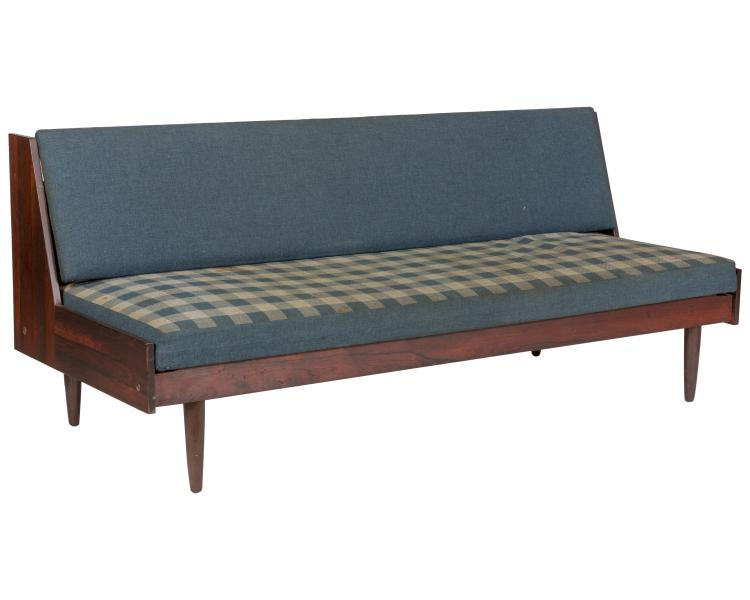 Danish Rosewood Fold Out Day Bed