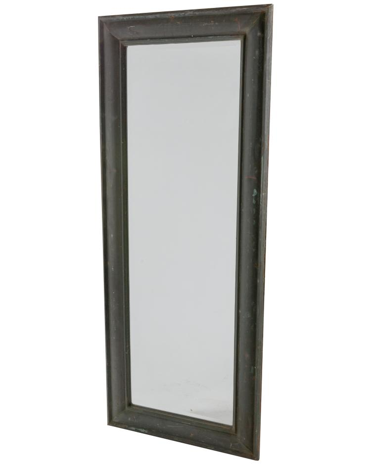 Copper Sheeted Hall Mirror