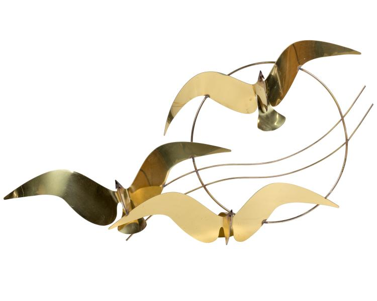 C. Jere Bird Sculpture - Signed