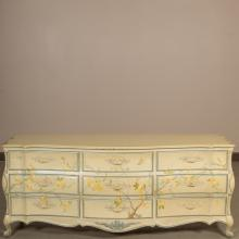 White Furniture Company Painted Triple Dresser