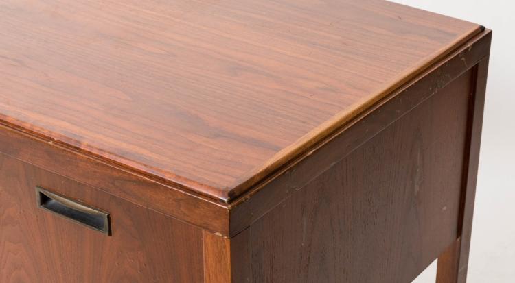 Jens Risom Style Teak Office Desk